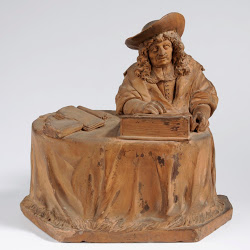 Pieter Xavery, Beeld uit De Leidse Vierschaar: De Schout. Museum De Lakenhal, Leiden.